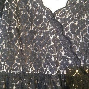Elle Dresses - Black lace dress
